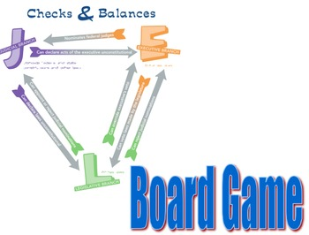 Checks and Balances Card Game & Board Game Bundle