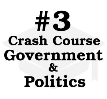Checks and Balances: Crash Course Government and Politics #3 Cornell Worksheet
