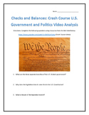Checks and Balances: Crash Course U.S. Government and Politics Video Analysis