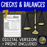 Checks and Balances DBQ or primary source activity