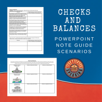 Checks and Balances:  Notes and Scenarios