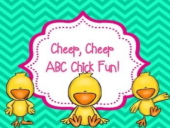 Cheep, Cheep ABC Chick Fun!