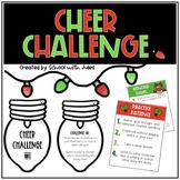 Cheer Challenge (Christmas Carol Kindness Challenge)