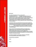Cheer Coach Parent Letter