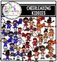 Cheer Kiddies Clipart Set