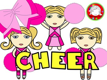 Cheer Through The Year Clipart (Personal & Commercial Use)