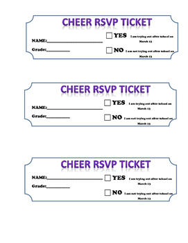 Cheer Tryout Clinic Schedule