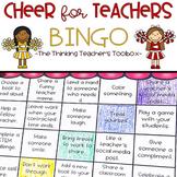 Cheer for Teachers BINGO