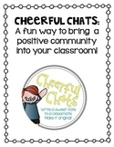 Cheerful Chats {A Way to Boost Classroom Community}