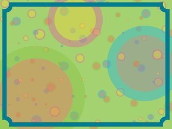 Cheerful Circles PowerPoint Background