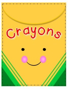 Cheerful Crayons Big Box By Wendy Badders Teachers Pay