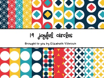 Cheerful Digital Papers