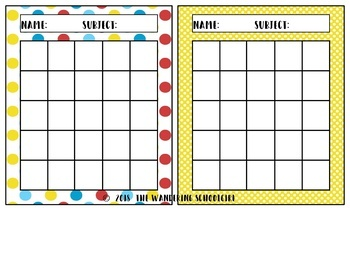 Happy Incentive Sticker Charts