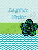 Cheerful Serenity Substitute Binder PDF with 2 Completely