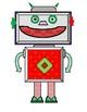 Cheerful the Christmas Robot