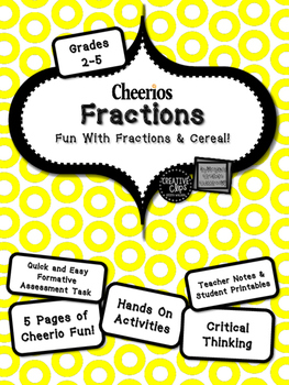 Math Fractions Cheerios!