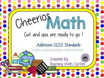 Cheerios Math Cards