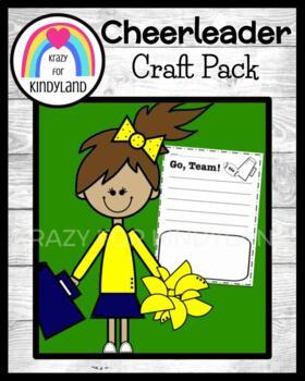 Sports Craft and Writing: Cheerleader