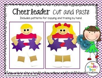 Cheerleader Cut and Paste