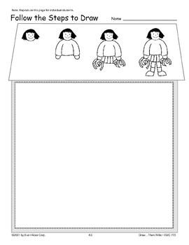 Cheerleader (Draw Then Write)