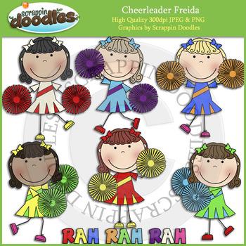 Cheerleader Freida
