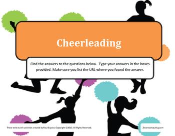 Cheerleading - Cheerleaders Online Web Search for Teens