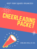 Cheerleading Information Packet & Cheer Cards {PDF Version}