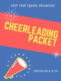 Cheerleading Information Packet & Cheer Cards {Google Docs
