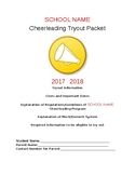 Cheerleading Informational packet