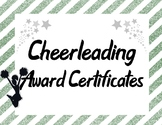 Cheerleading Squad Team Awards in Hunter Green and Silver Gray