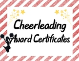 Cheerleading Squad Team Awards in Red and Yellow
