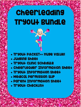 Cheerleading Tryout Bundle (includes $10 packet!)  **SUPER DEAL