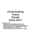 Cheerleading Tryout Packet