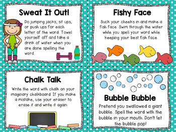 Sight Word Cheers & Chants! Great for learning sight words & spelling words!