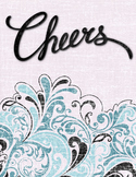 Cheers  encouraging printable quote