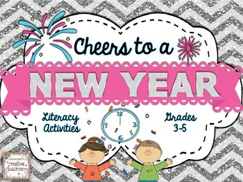 Cheers to a New Year {Literacy Activities to Ring in the New Year!}