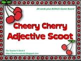 Cheery Cherry Adjective SCOOT with Bonus Game Board
