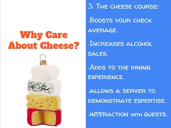 Cheese Lesson: Slideshow, Quiz,Tasting Worksheet: FACS, Culinary, Types of, Unit