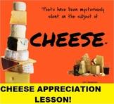 Cheese Lesson: Slideshow, Quiz,Tasting Worksheet: FACS, Cu