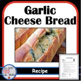 Garlic Cheese Bread Recipe FACS