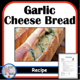 Garlic Cheese Bread Recipe, Free Download