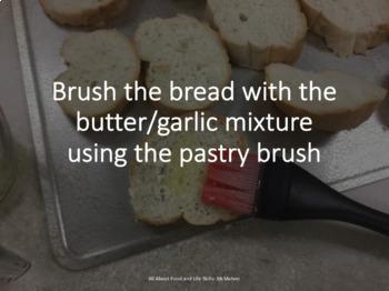 Garlic Cheese Bread Recipe Steps PowerPoint