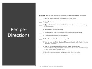 Garlic Cheese Bread Recipe Steps