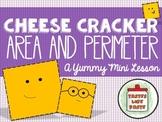 Cheese Cracker Area and Perimeter