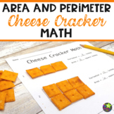 Area and Perimeter Cheese Cracker Math