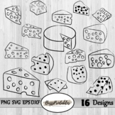 Cheese Digital Clipart Images, SVG PNG Graphics, Personal & Commercial use