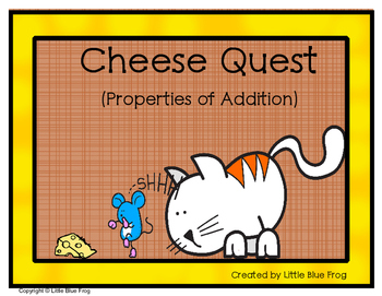 Cheese Quest--properties of addition