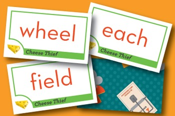 Cheese Thief long ea, ee, ie Phonics Game