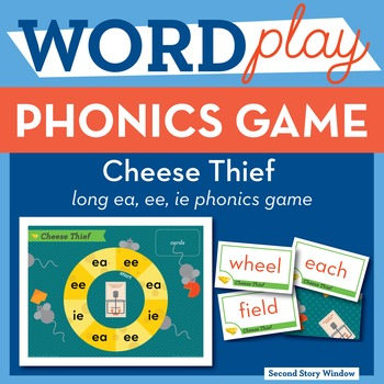 Cheese Thief long ea, ee, ie Phonics Game - Words Their Way Game