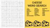 Cheese Word Search; FACS Culinary Arts, Cheese Making Process, Pasteurization